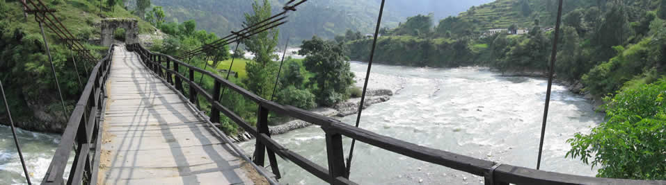 The bridge at BARKOT